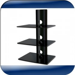 Wall Mount DVD Shelves (TVS12)