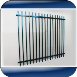 Steel Security Fence 1.8M high (FENS1.8)