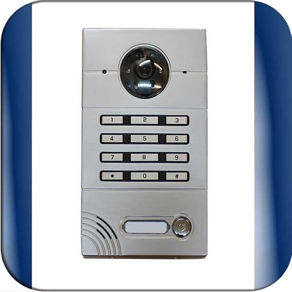 Waterproof Audio Intercom With Inbuilt Keypad Connects To
