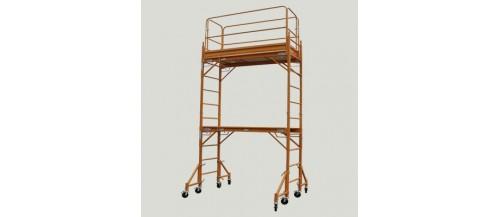 Mobile Steel Scaffolding for DIY Handyman