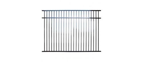 Aluminium Flat Top Fence