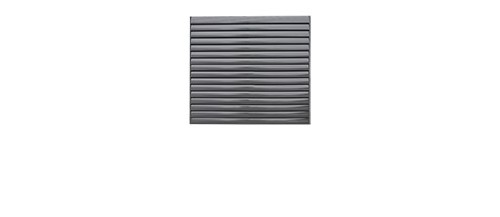 1.8M Wide Louver Fence