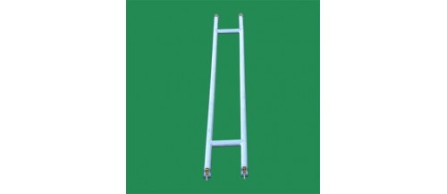 Narrow Aluminium Scaffolding with inbuilt Ladder Frames